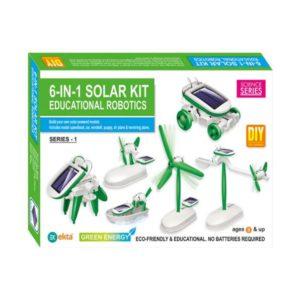 6 In 1 Solar Kit Educational Robotics Box online shopping store