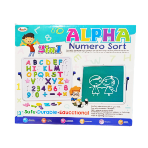 ALPHA & Numero Sort Box (2 in 1) online shopping store