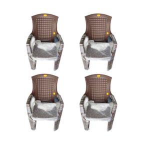 online shopping store Arofer Tough Model Plastic Chair (Pair 4 Set)